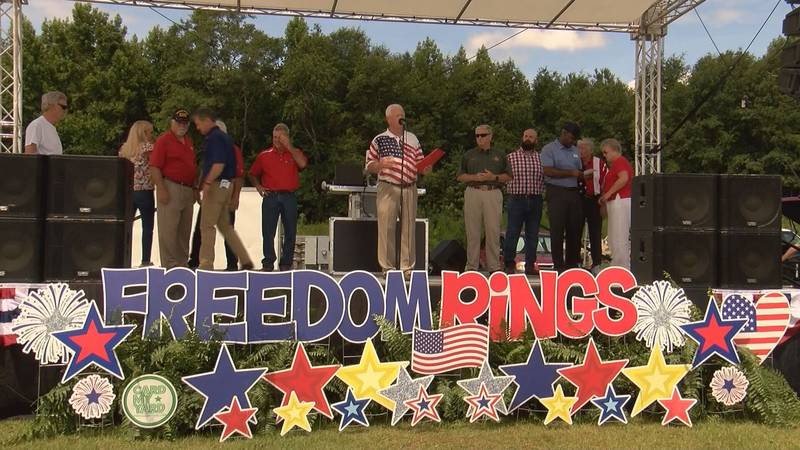 The City of Rincon celebrated the Fourth of July with the Freedom Rings celebration on Saturday...