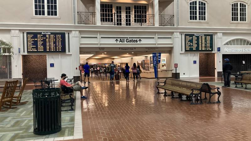 The Savannah/Hilton Head International Airport is seeing an increase in travelers.