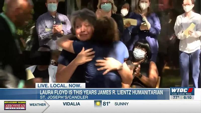 Laura Floyd is this year's James R. Lientz Humanitarian