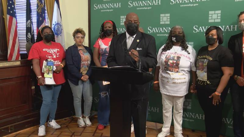 Savannah Mayor Van Johnson is promoting a new initiative to curb gun violence.