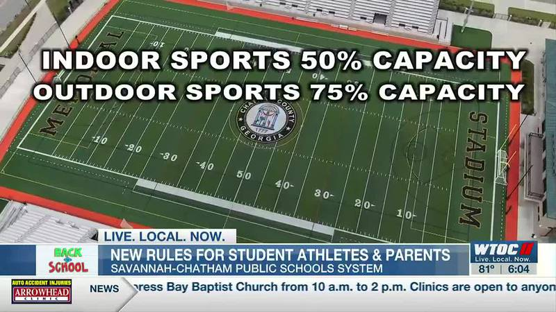 SCCPSS sets capacity limits for athletic events