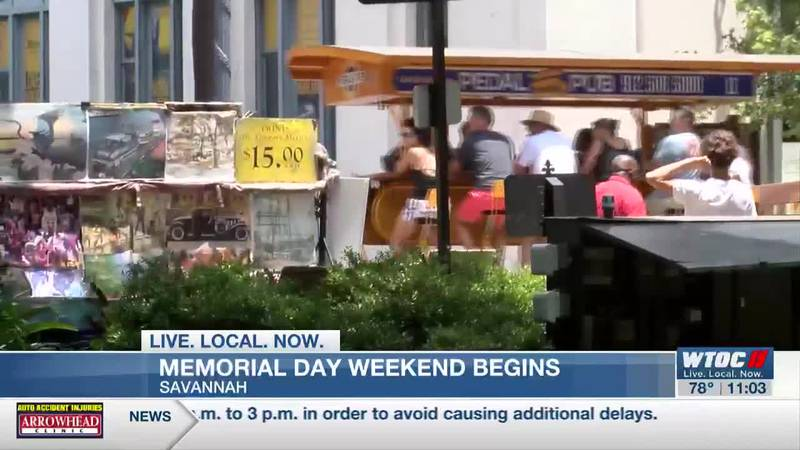 Large crowds expected on Memorial Day weekend