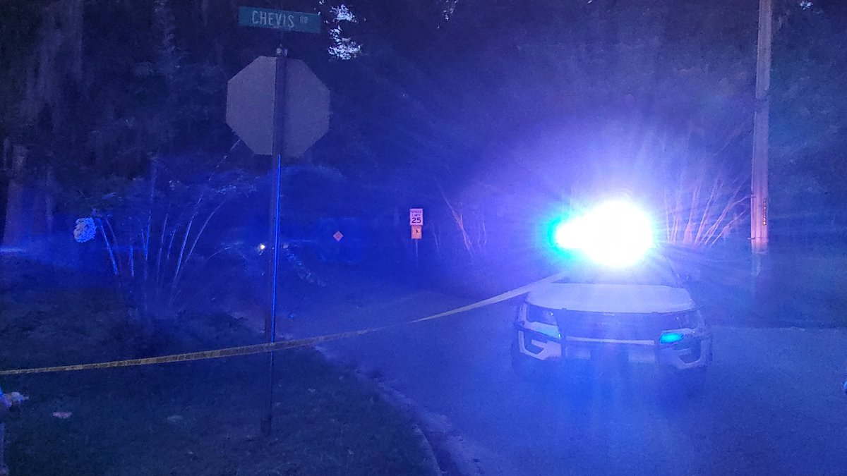 The Chatham County Police Department confirms they are investigating a shooting at Chevis Road...