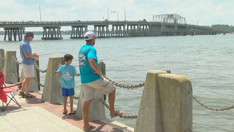 Enjoy your Father's Day by going fishing with your family!