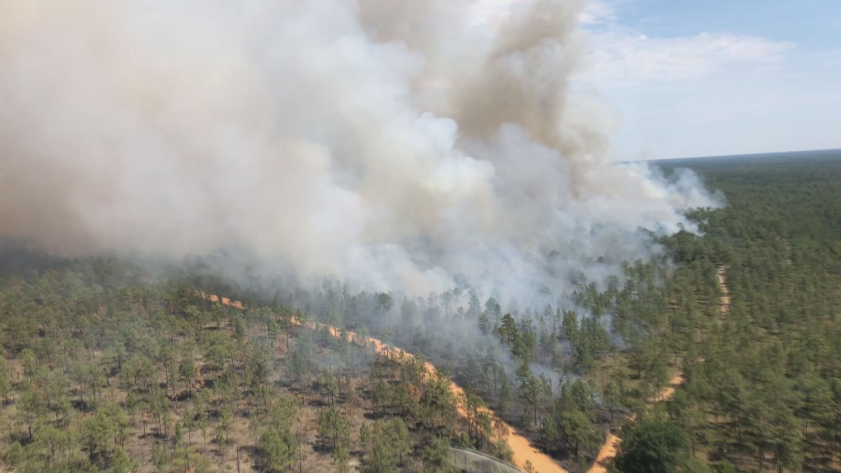 For the men and women who start controlled burns, it's a concise, calm, calculated event....