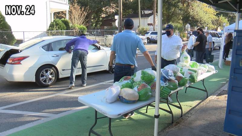 Last week, Savannah Feed the Hungry provided thousands of people with food to make their own...
