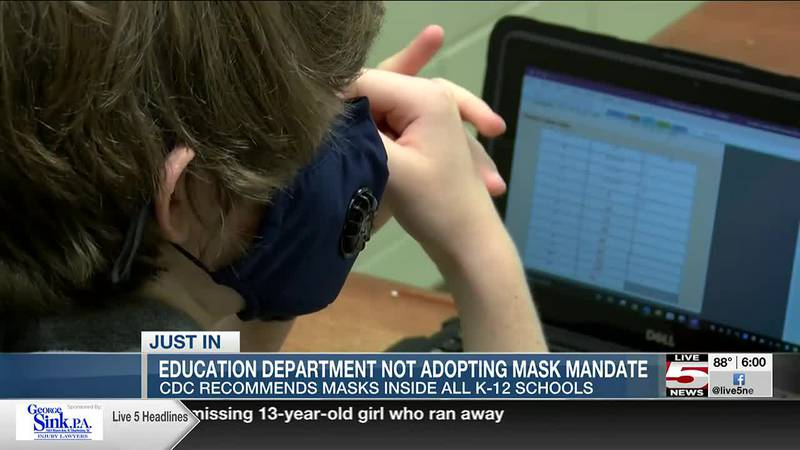 VIDEO: South Carolina schools won't require face masks, blames stipulation in state budget