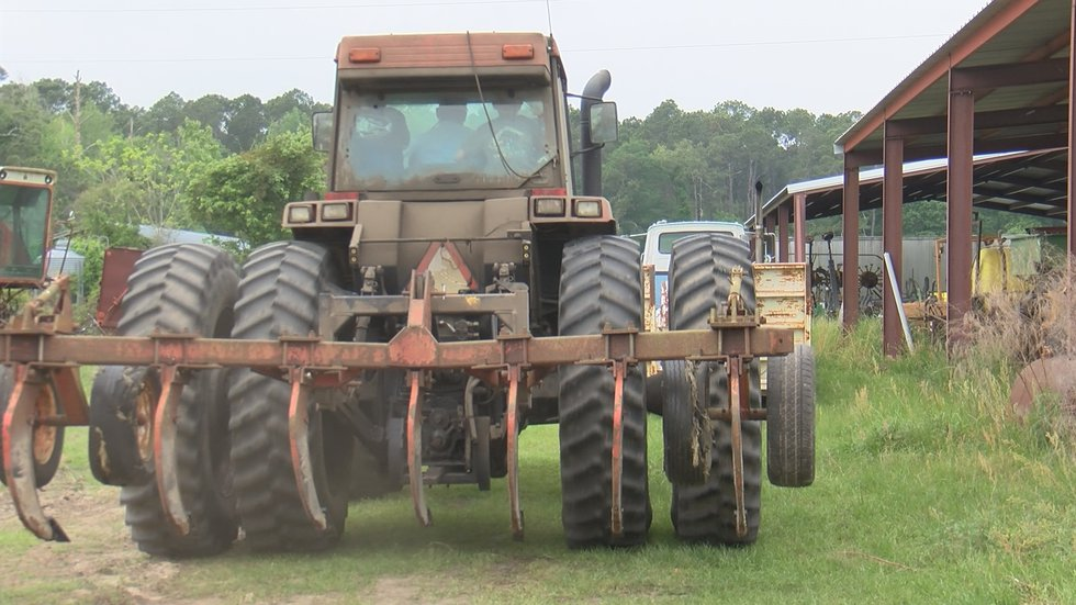 Jamie Tate enjoys spending time on his farm with his family. Including tractor rides and...