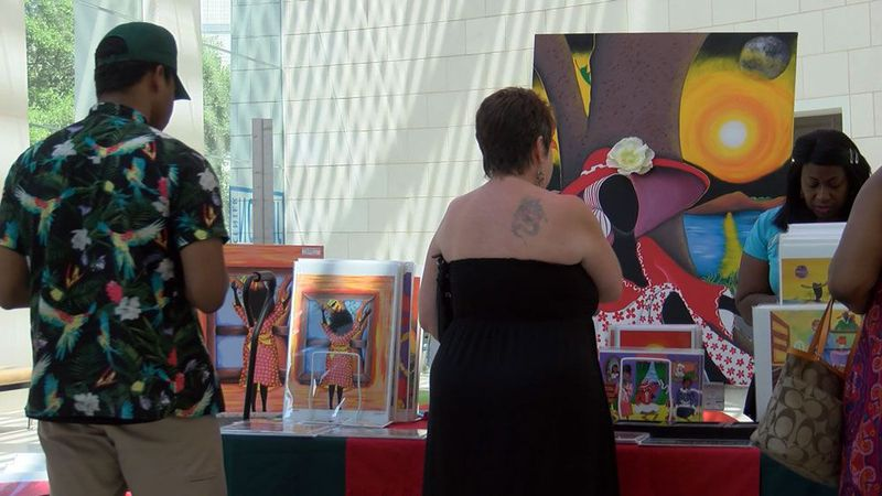 Past Juneteenth event at the Telfair Museum.