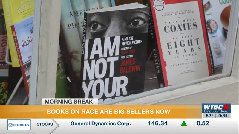 Book stores selling more books on race