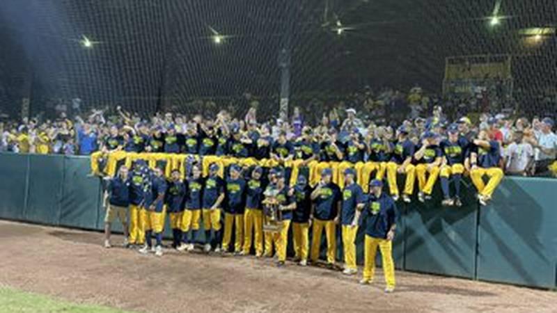 The Savannah Bananas win the 2021 Coastal Plain League Championship