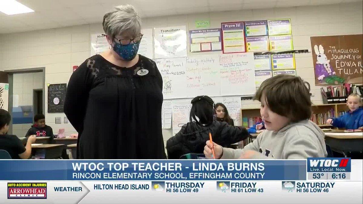 Top Teacher: Linda Burns