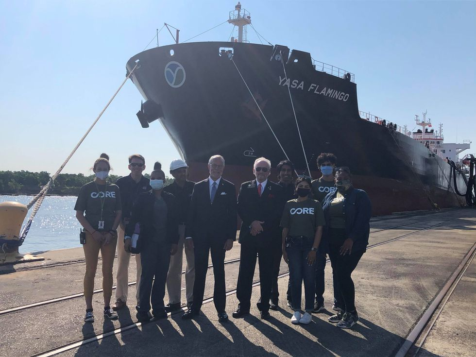 New partnership helps seafarers get vaccinated while in the Port of Savannah