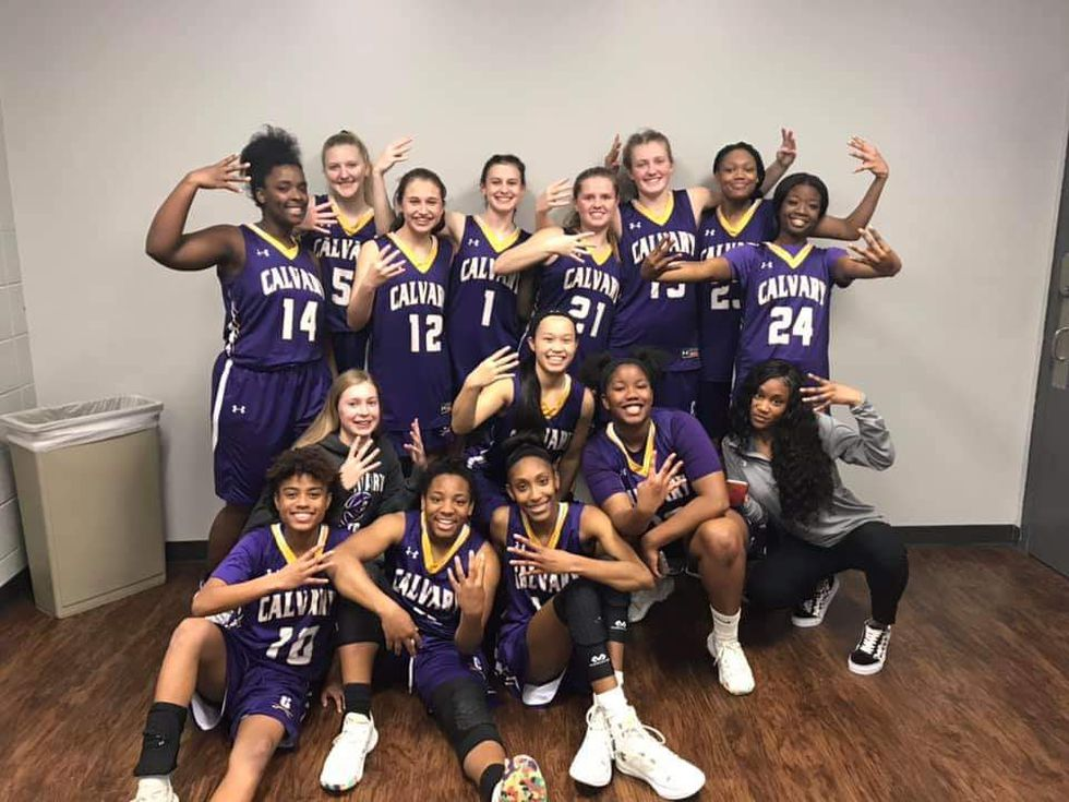 Calvary Day held off Stratford Academy to advance to the Final Four. The win snapped the...