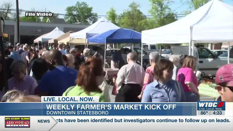 Farmer's market returning to downtown Statesboro