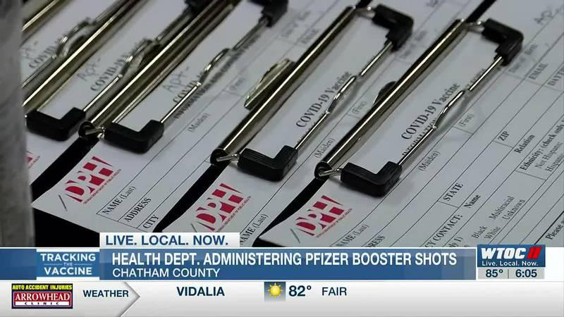 CHD health departments begin administering Pfizer booster shots