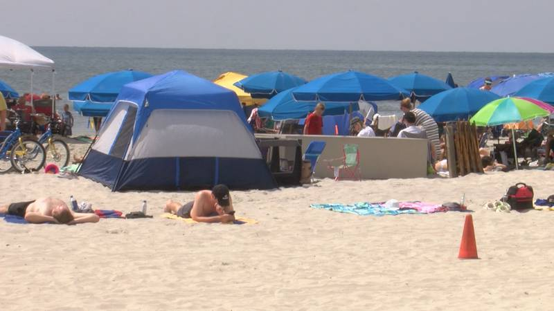 Visitors flock to Hilton Head Island for Memorial Day Weekend.