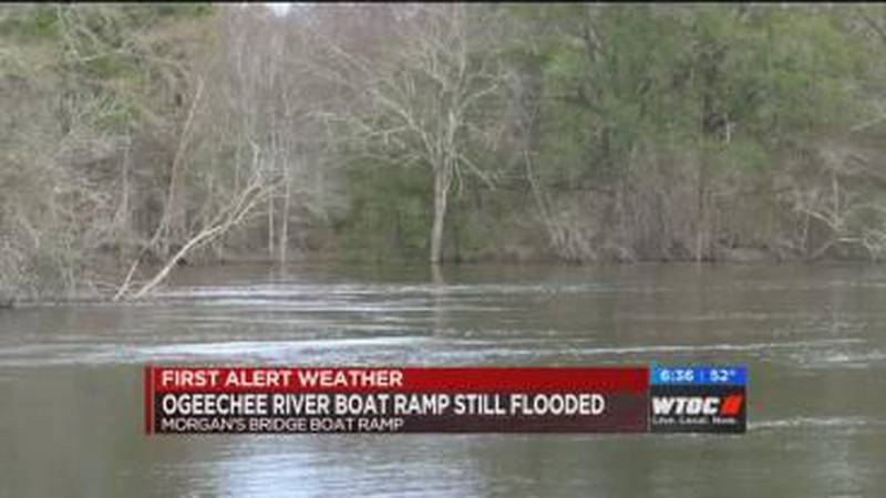 Ogeechee River still flooded