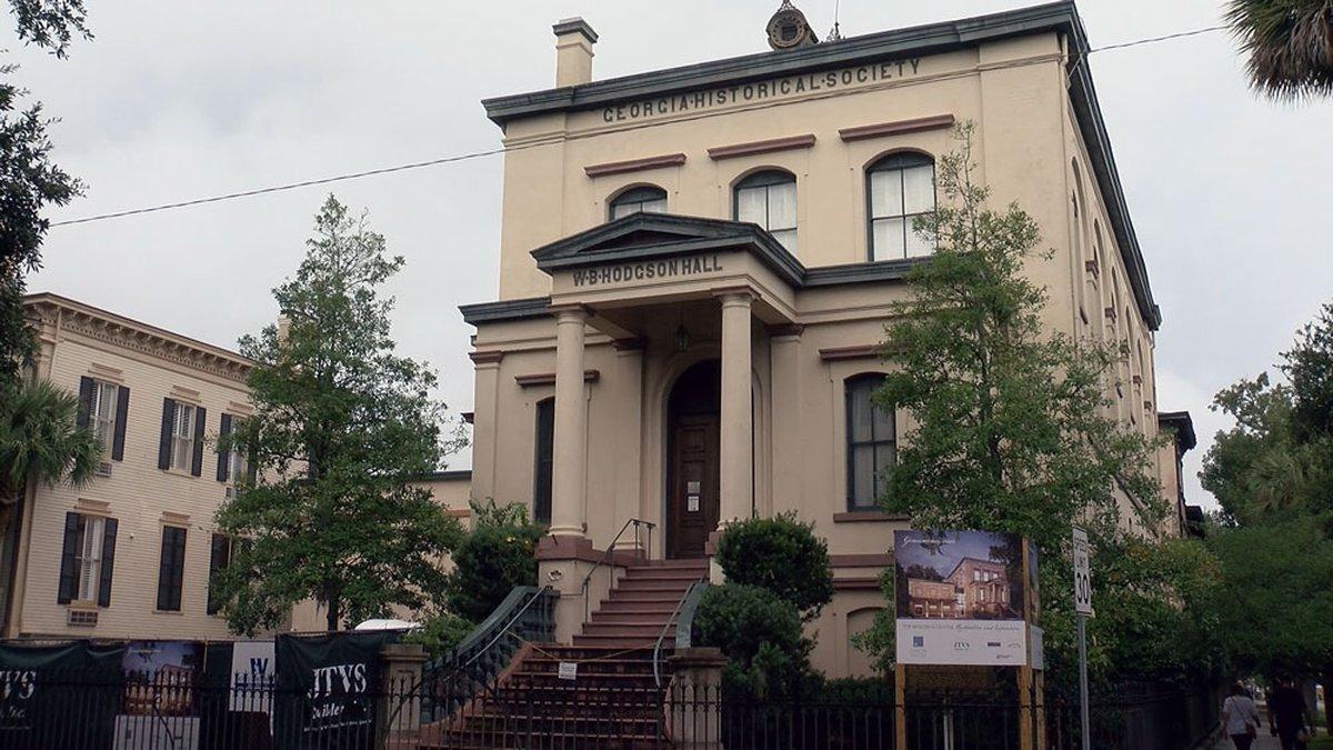 Georgia Historical Society in Savannah, Ga.  Source: WTOC