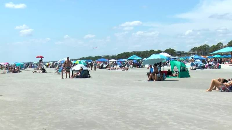 Hilton Head visitors enjoying final days of summer
