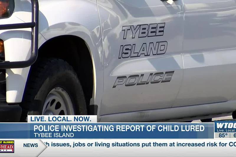 Tybee Police investigating report of suspicious males trying to lure 10-year-old child