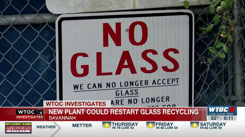 Glass recycling may return to Savannah