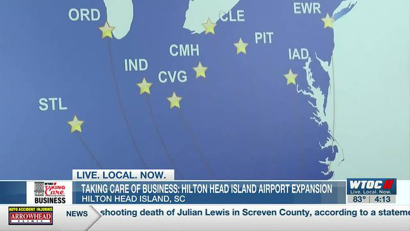 Taking Care of Business: Hilton Head Island Airport expansion