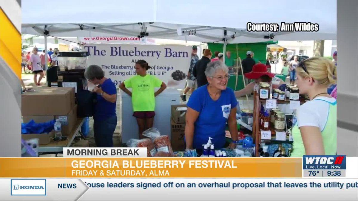Georgia Blueberry Festival returns this weekend