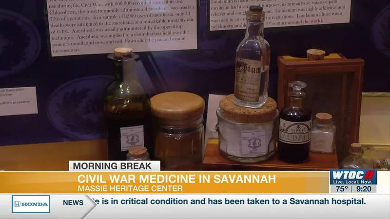 Civil War medicine in Savannah at the Massie Heritage Center