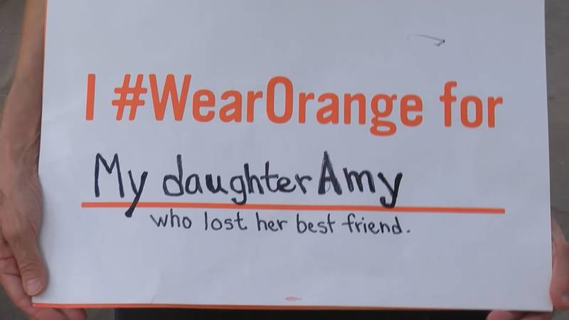 Friday, you may have seen many wearing the color orange to raise awareness about gun violence.