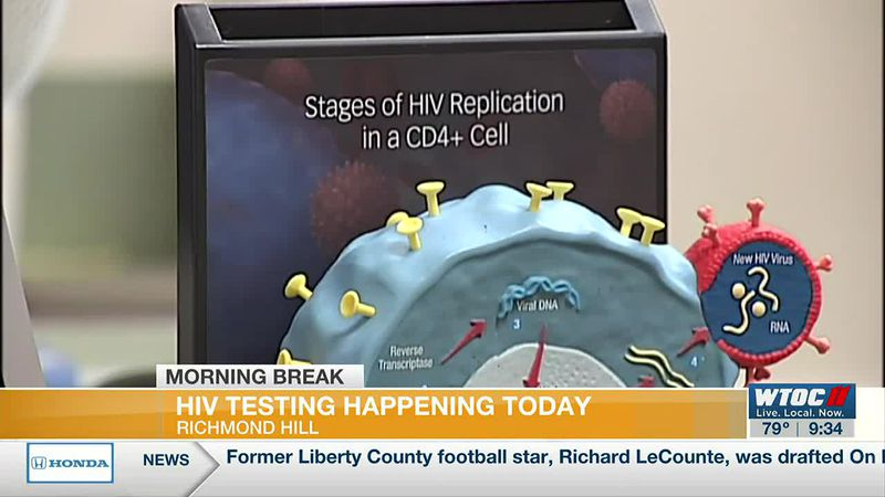 LIVE: HIV testing clinic in Richmond Hill on Monday (Part 2)