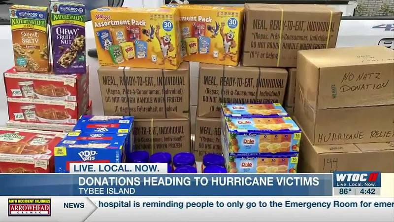 Tybee Island officers taking Ida donations to Louisiana