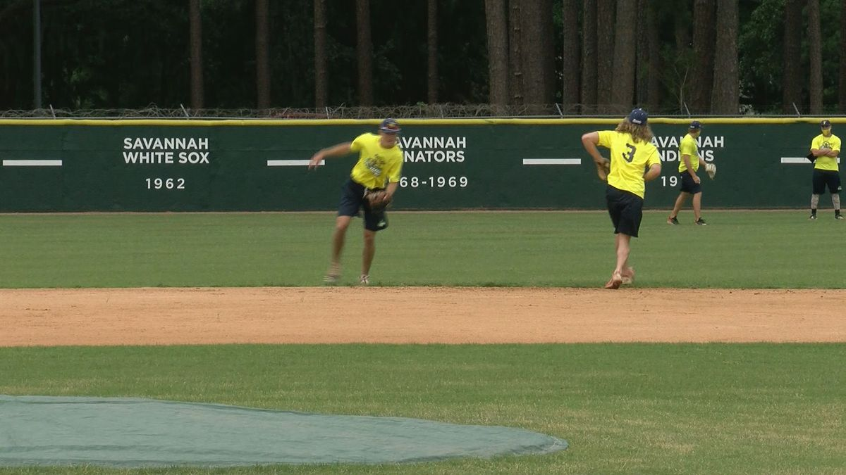 The Savannah Bananas are practicing again for the first time as they prepare for the new season.