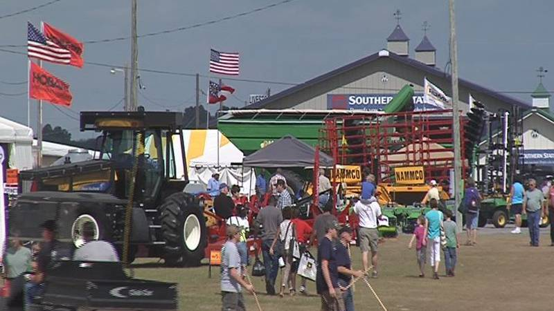 The Ag Expo is back after it was canceled in 2020 because of the pandemic.
