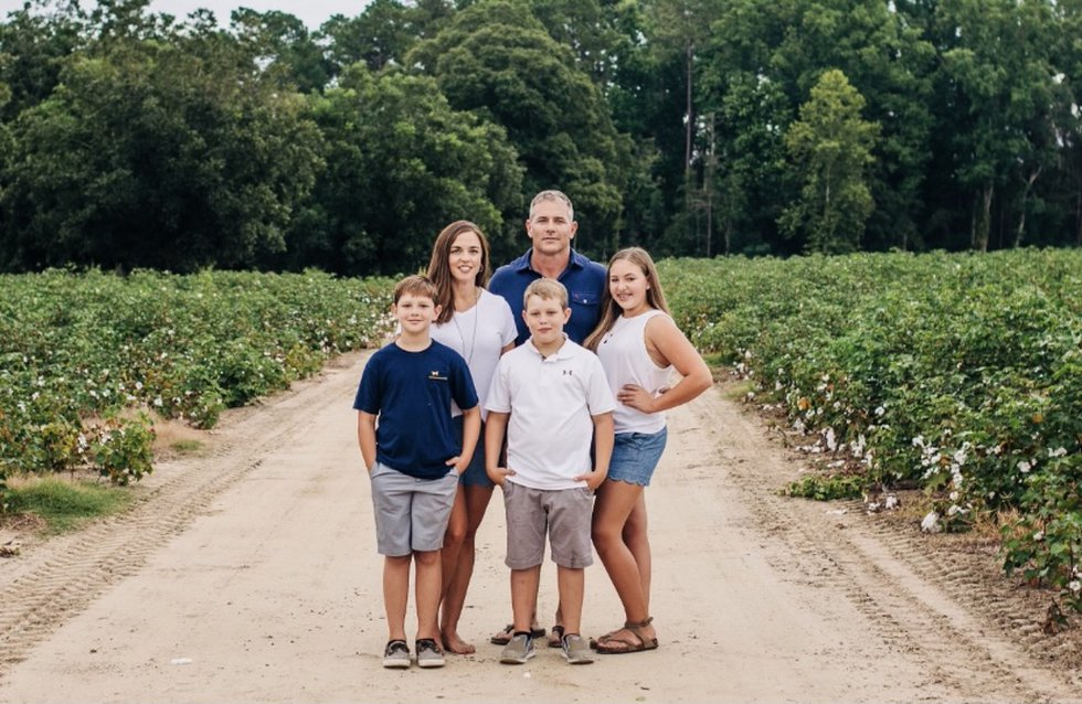 Jonathan hopes his kids will be able to carry on his family's farming tradition one day.