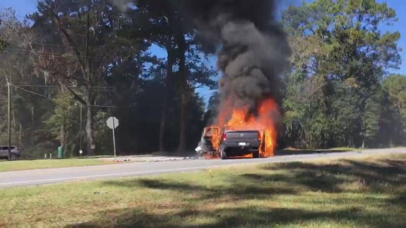 Liberty County Fire Chief Brian Darby is calling a Midway Dentist and his staff heroes after...