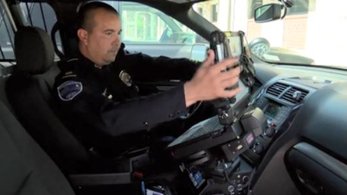 """A new program called """"SmartForce"""" is helping keep officers connected and safe during the..."""