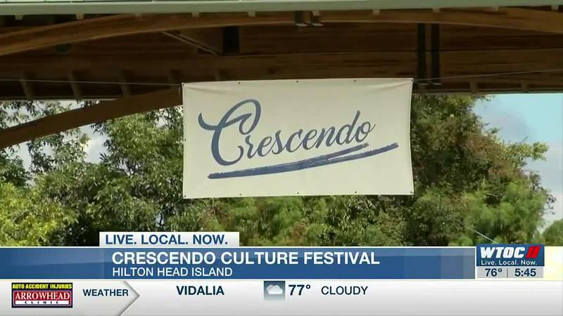 Start of Crescendo Culture Festival on Hilton Head Island