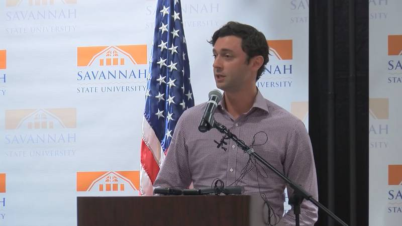 U.S. Senator from Georgia Jon Ossoff was in Savannah Tuesday talking about economic relief, his...