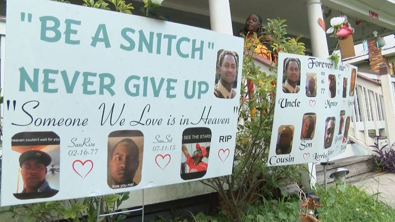 Savannah mothers who have lost sons to gun violence react to recent spate of shootings.