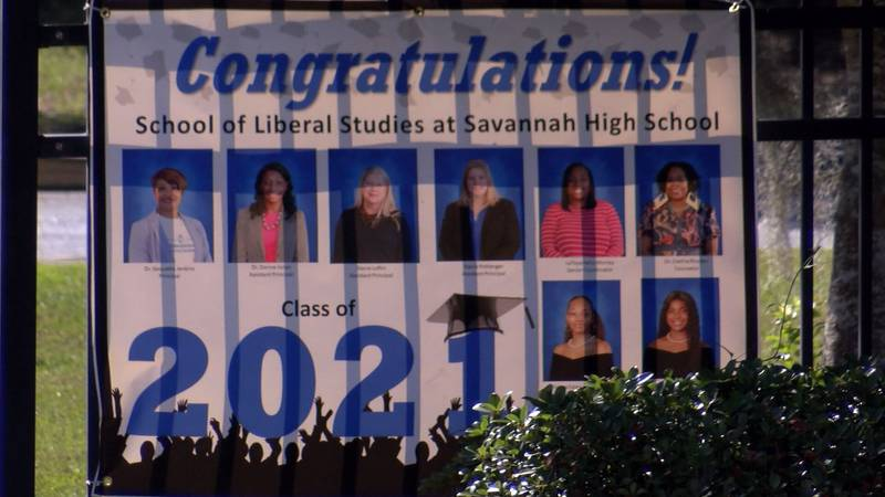 Savannah-Chatham County high school seniors will be walking across the stage starting Monday to...
