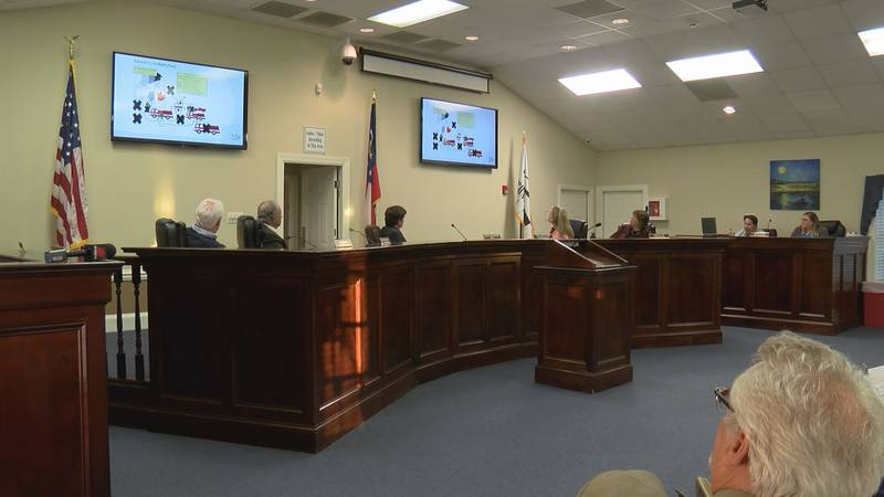A Richmond Hill city council meeting.
