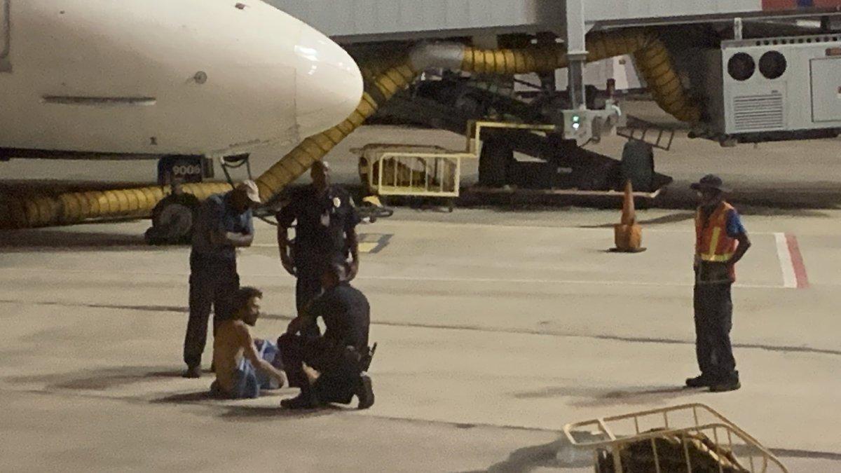 Flipboard: Officials detain naked man on Birmingham