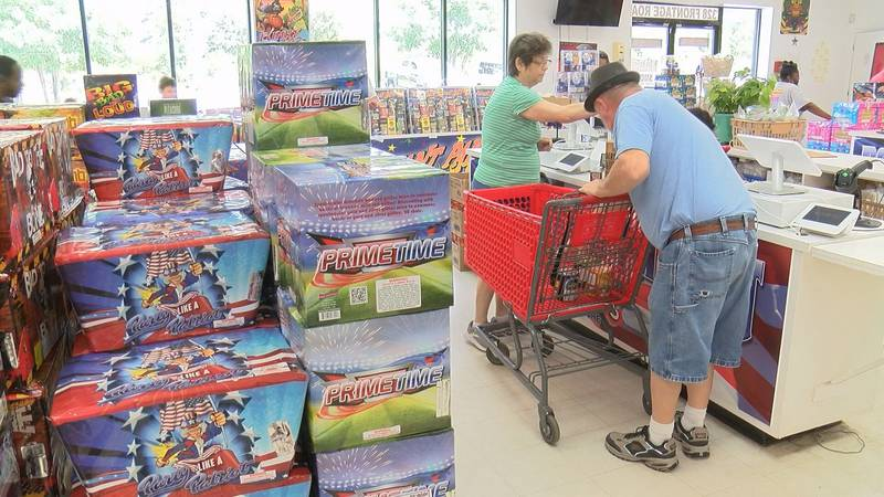 Firework stores in the Lowcountry have seen high demand from customers ahead of July 4th.
