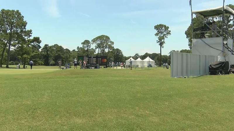 It's RBC Heritage Week on Hilton Head Island and Wednesday the greens are coming to life as...