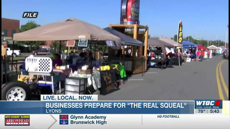 Businesses prepare for Real Squeal BBQ & Music Festival in downtown Lyons
