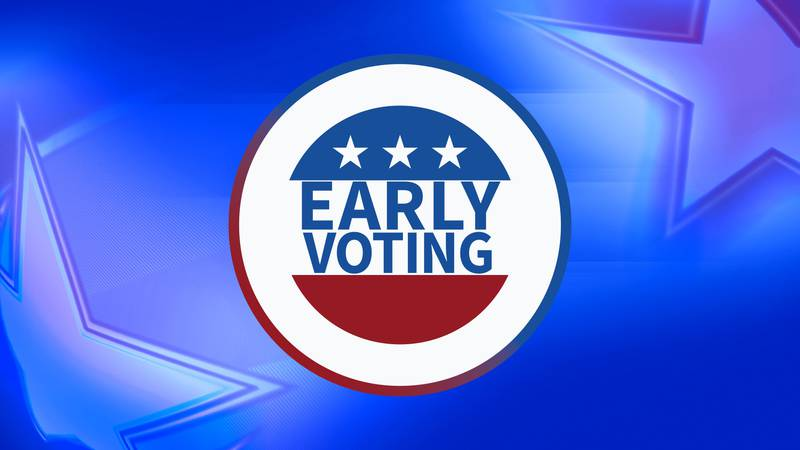 In Chatham County, early in-person voting starts at 8 a.m. on Tuesday and will run until...