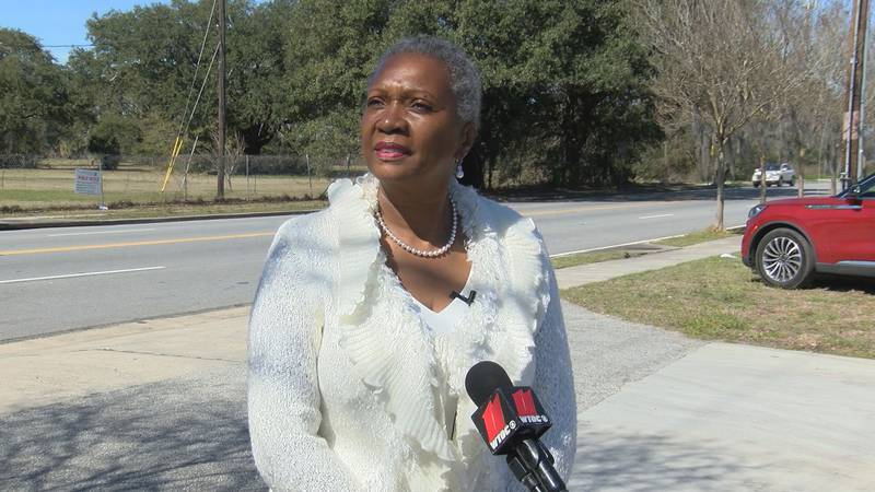 Savannah Alderwoman Bernetta Lanier held a news conference Wednesday to respond to a WTOC...