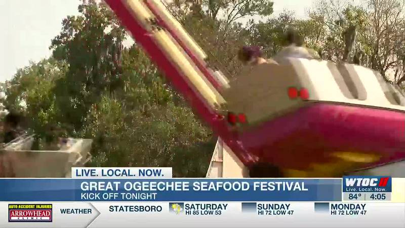Sensory time given to those that need it during Great Ogeechee Seafood Festival