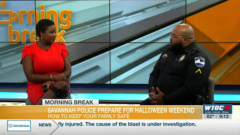 Savannah Police release safety tips, suggested trick-or-treat time for Halloween